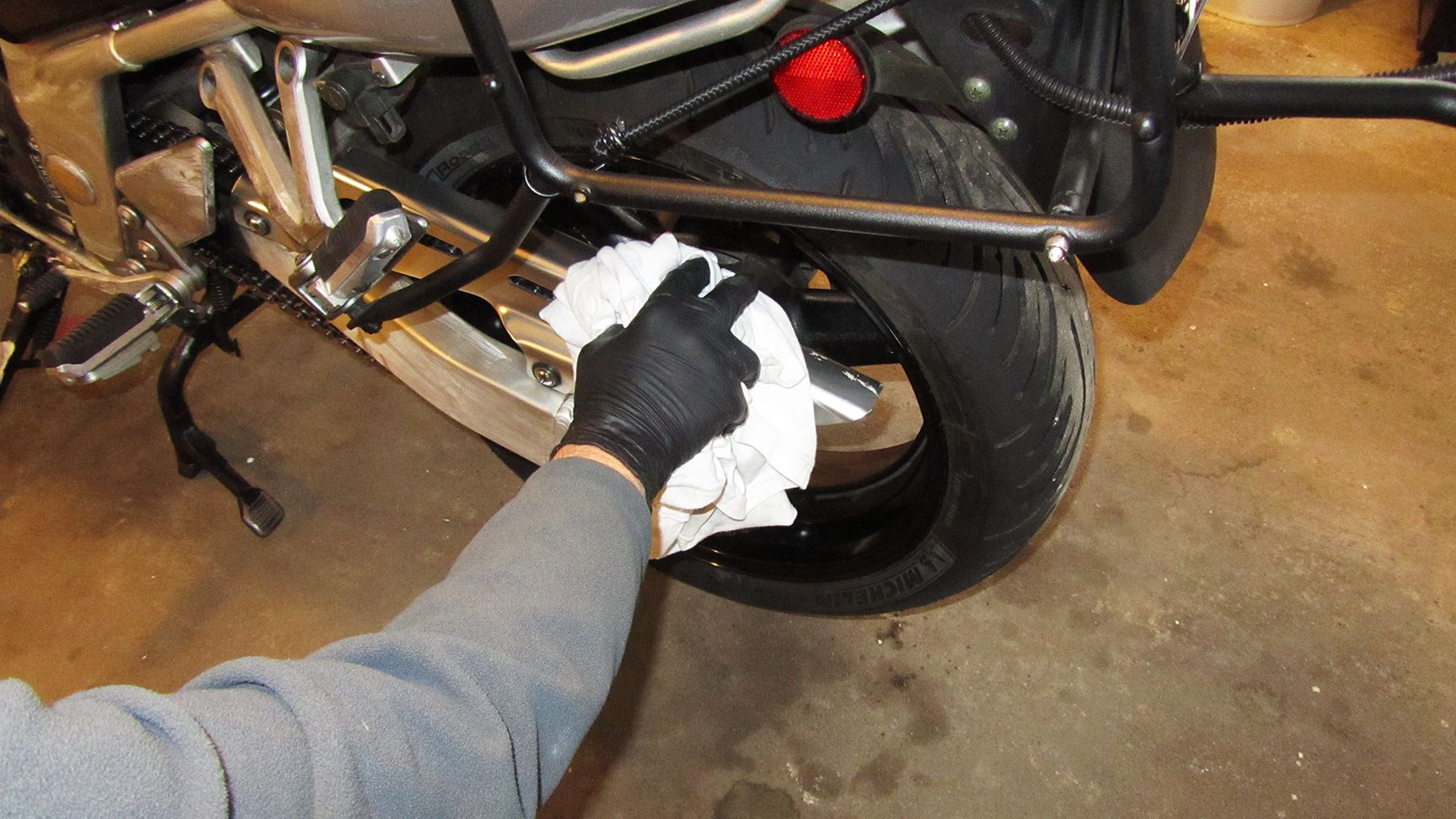 Remove Remaining Turtle Wax
