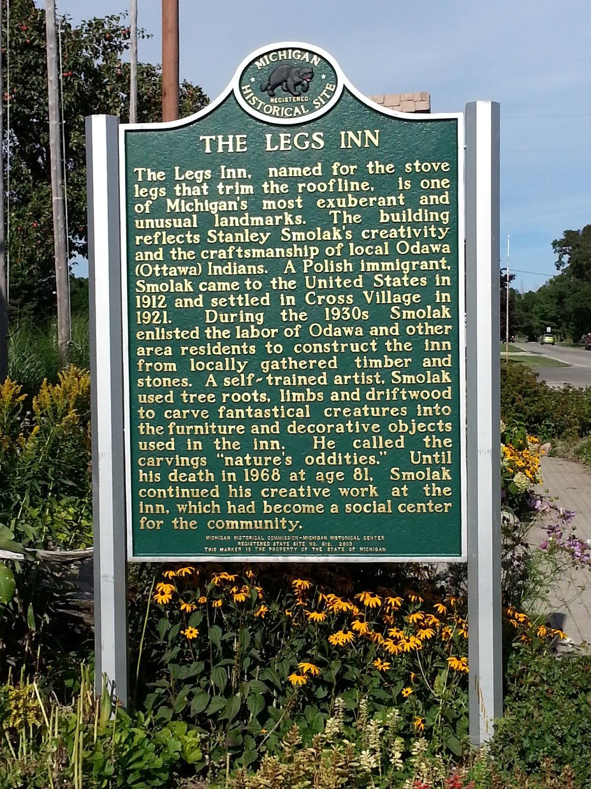 Legs Inn Info