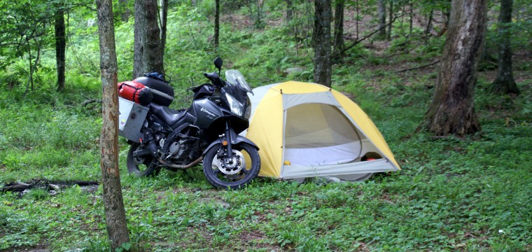 Motorcycle Camping: What/How To Pack