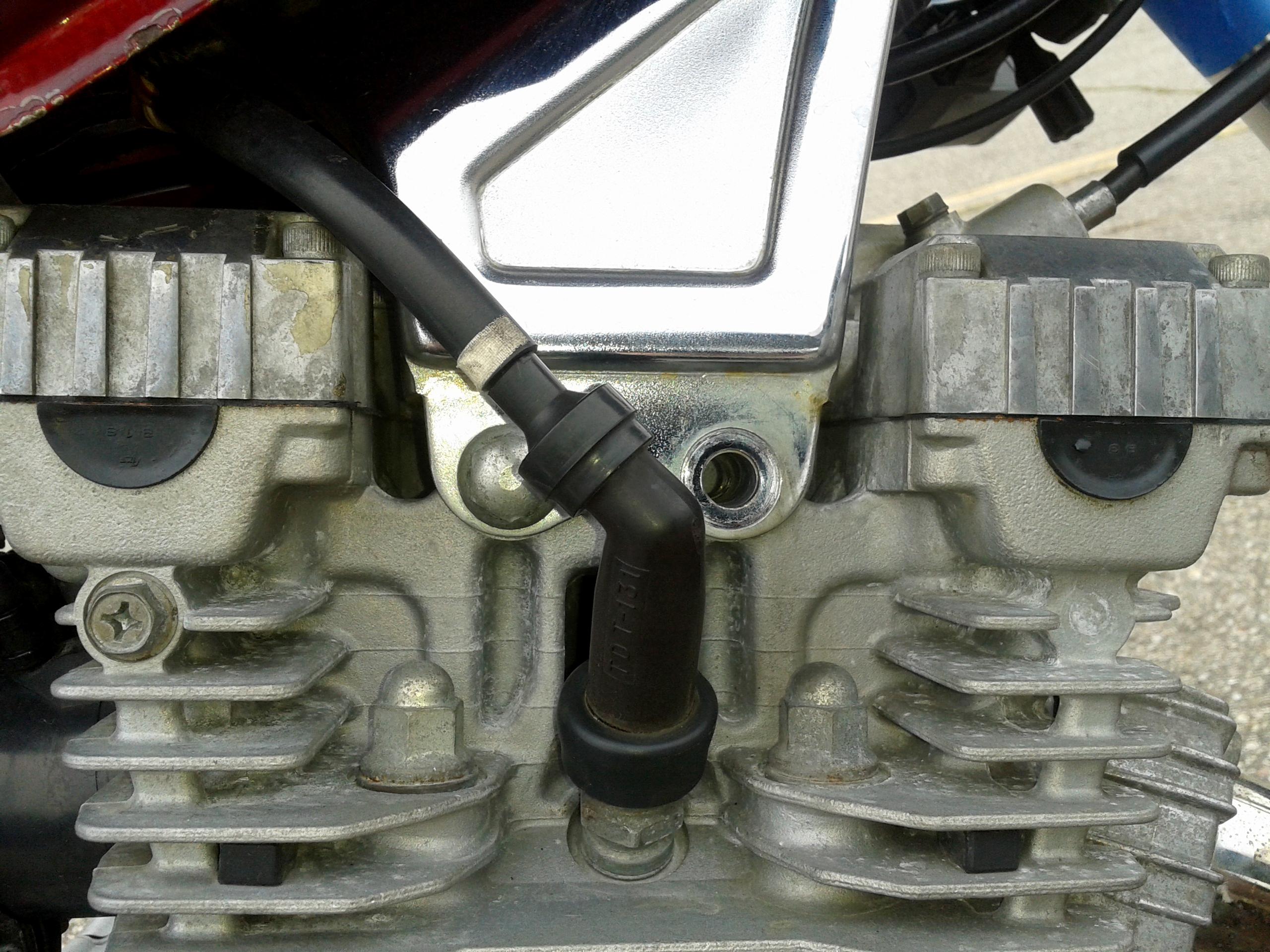 Missing Engine Bolt