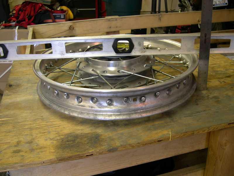 Spoke Wheel Level Offset