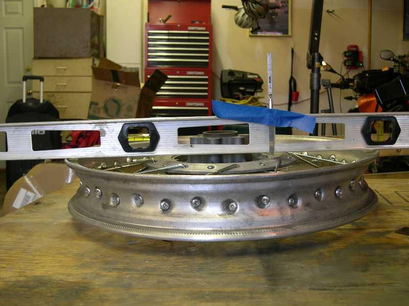 Spoke Wheel Level Runout
