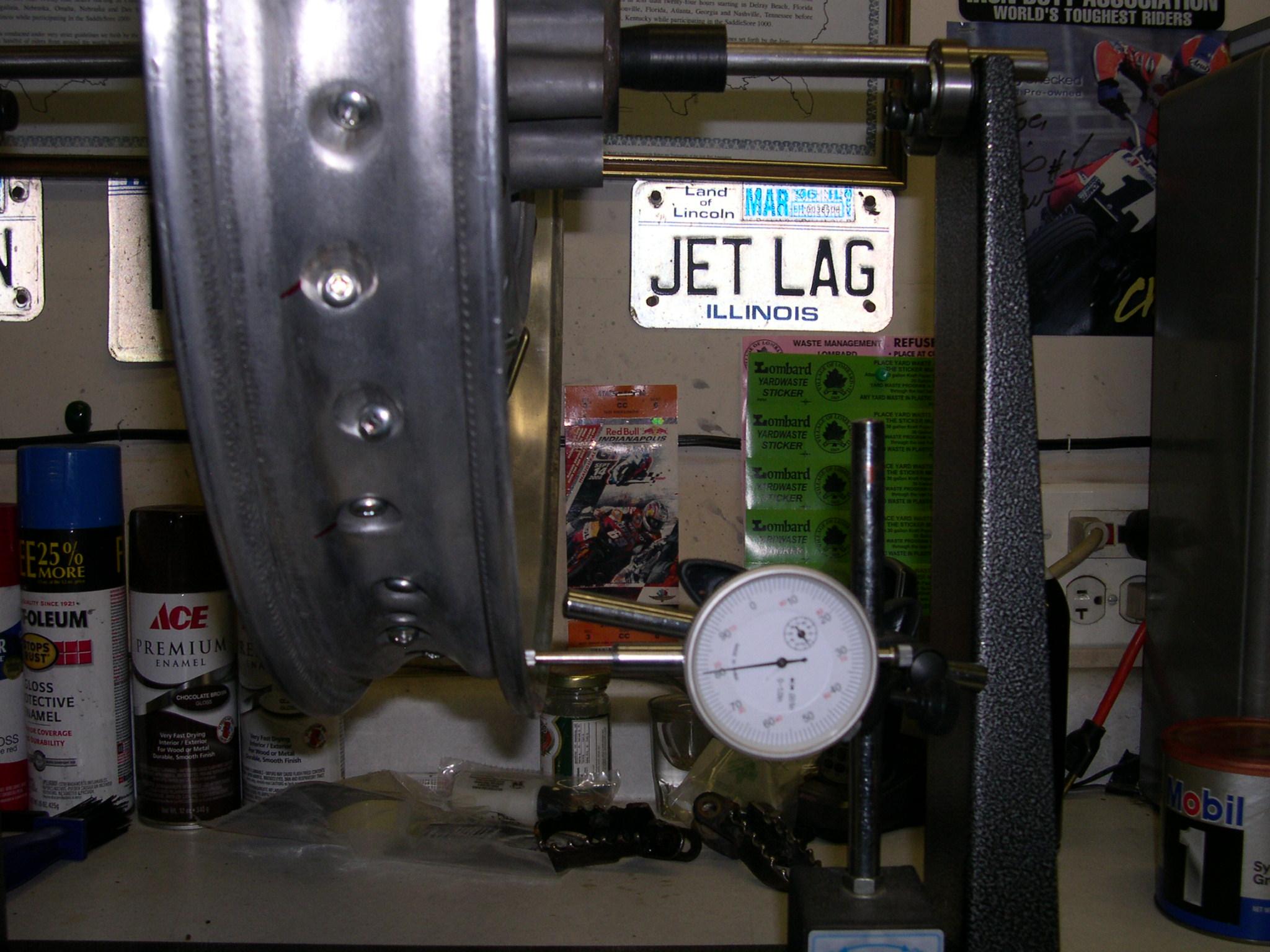 Spoke Wheel Dial Indicator