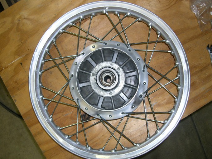 Spoke Wheel Lacing