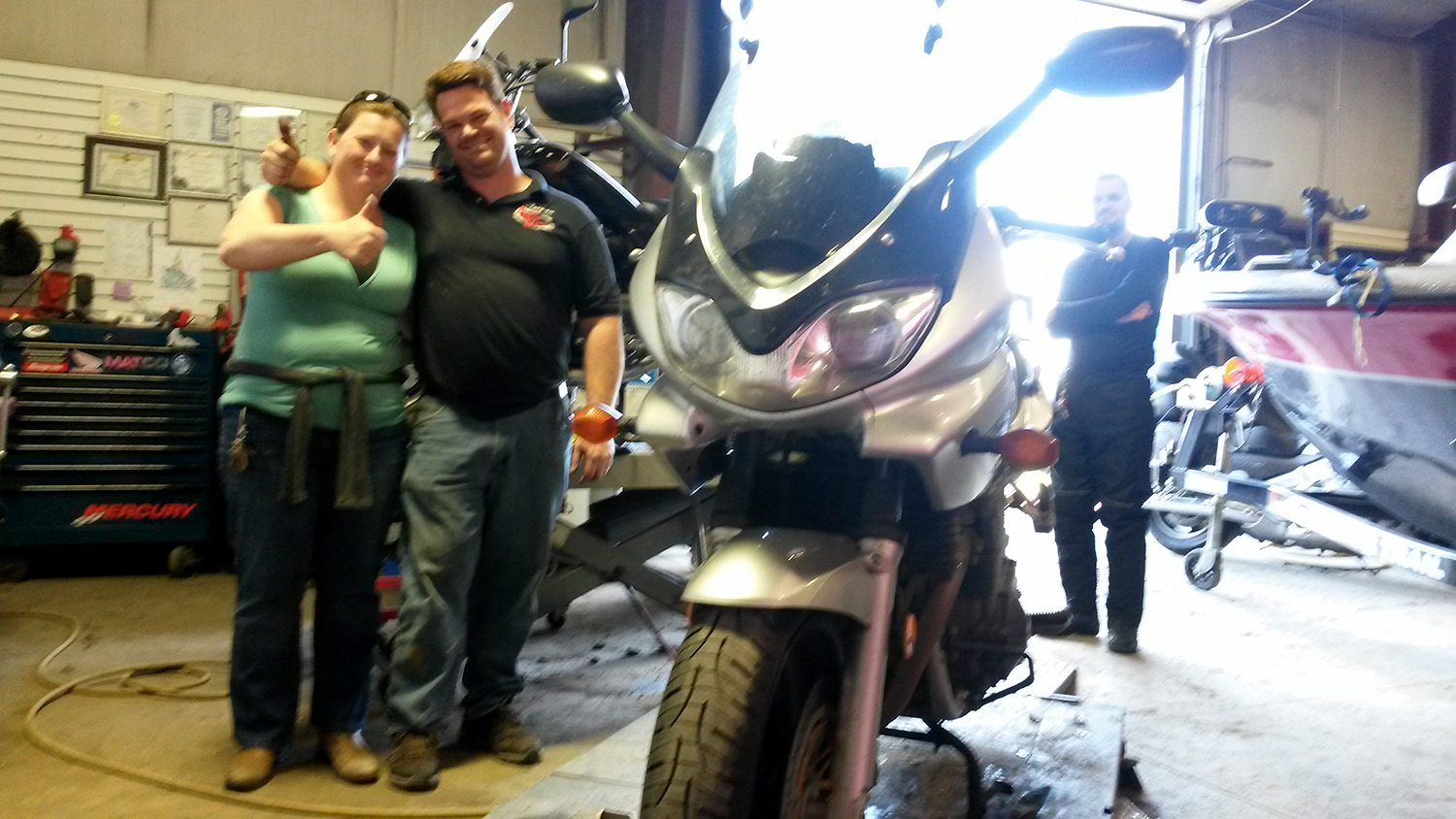 Motorcycle Chain Replacement