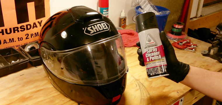 Cleaning Your Motorcycle Helmet's Interior Liner And Exterior Shell
