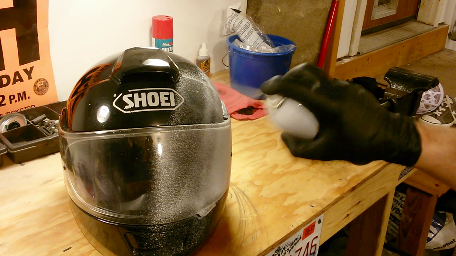 how to clean your motorcycle helmet (inside and out)