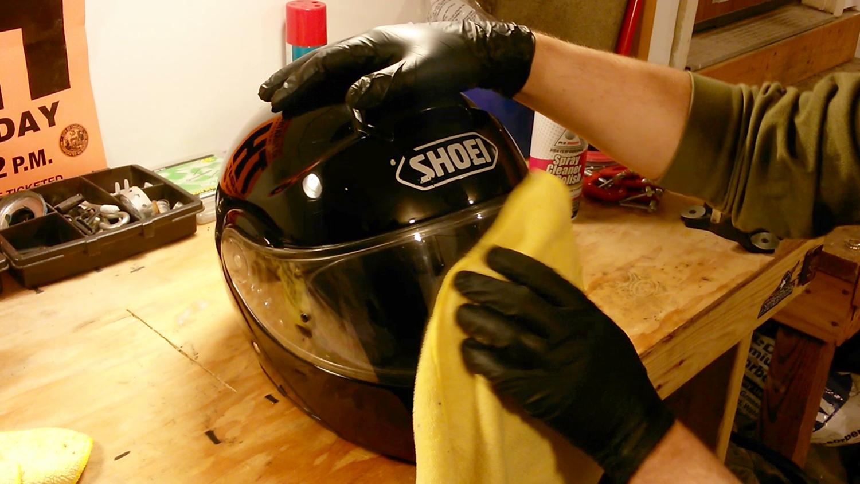 Polished Helmet