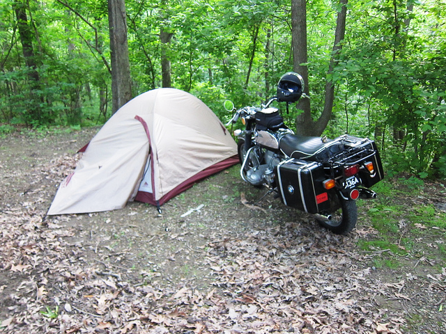 Motorcycle C&ing Tent Motorcycle C&fire & Motorcycle Tent Camping: An Accessible Adventure