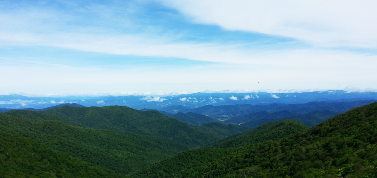 Etowah To Meadows Of Dan: Enter The Blue Ridge Parkway