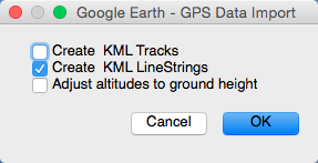 Google Earth Import 1