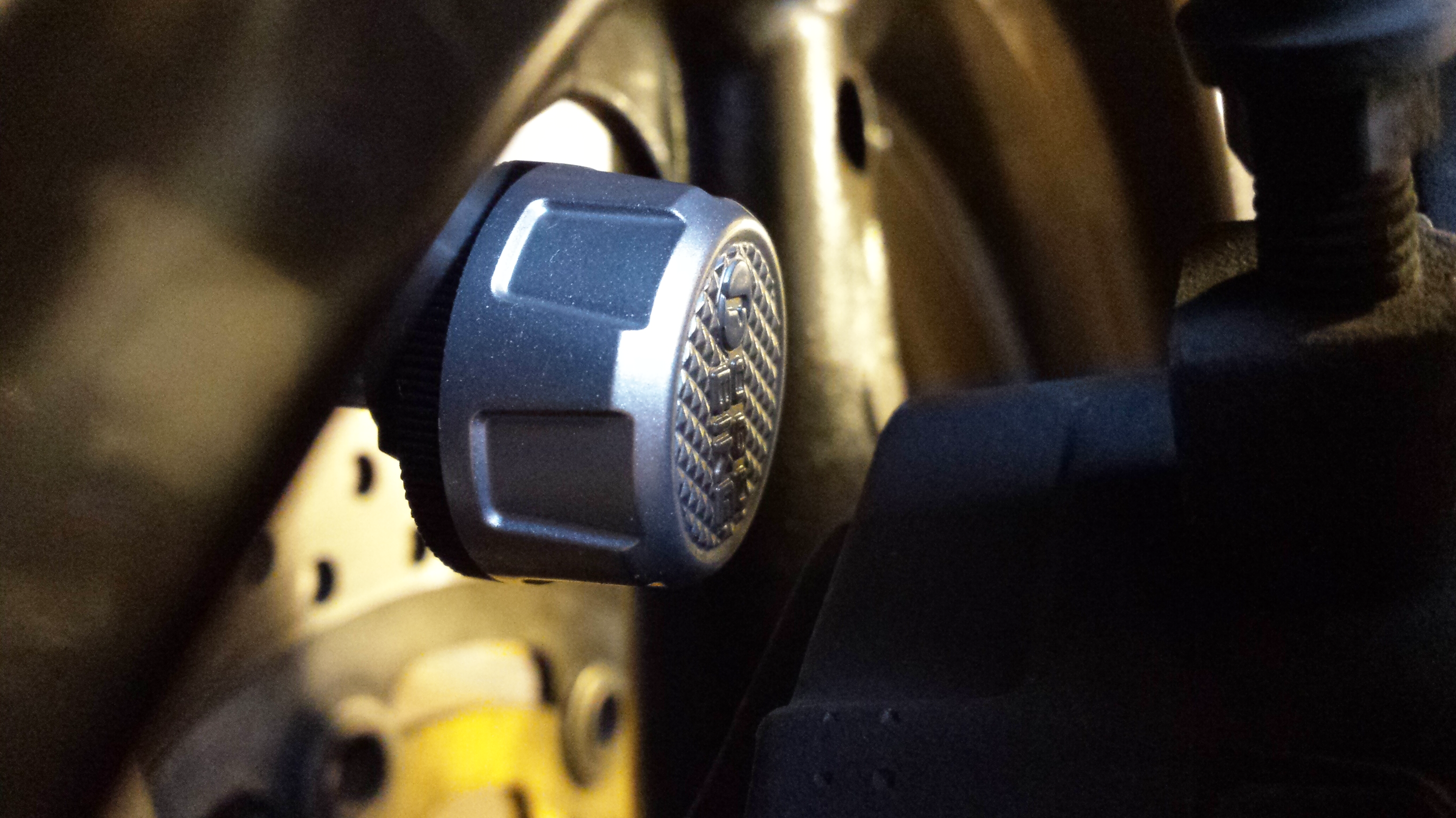 Monitor Your Motorcycle Tire Pressure Via Bluetooth