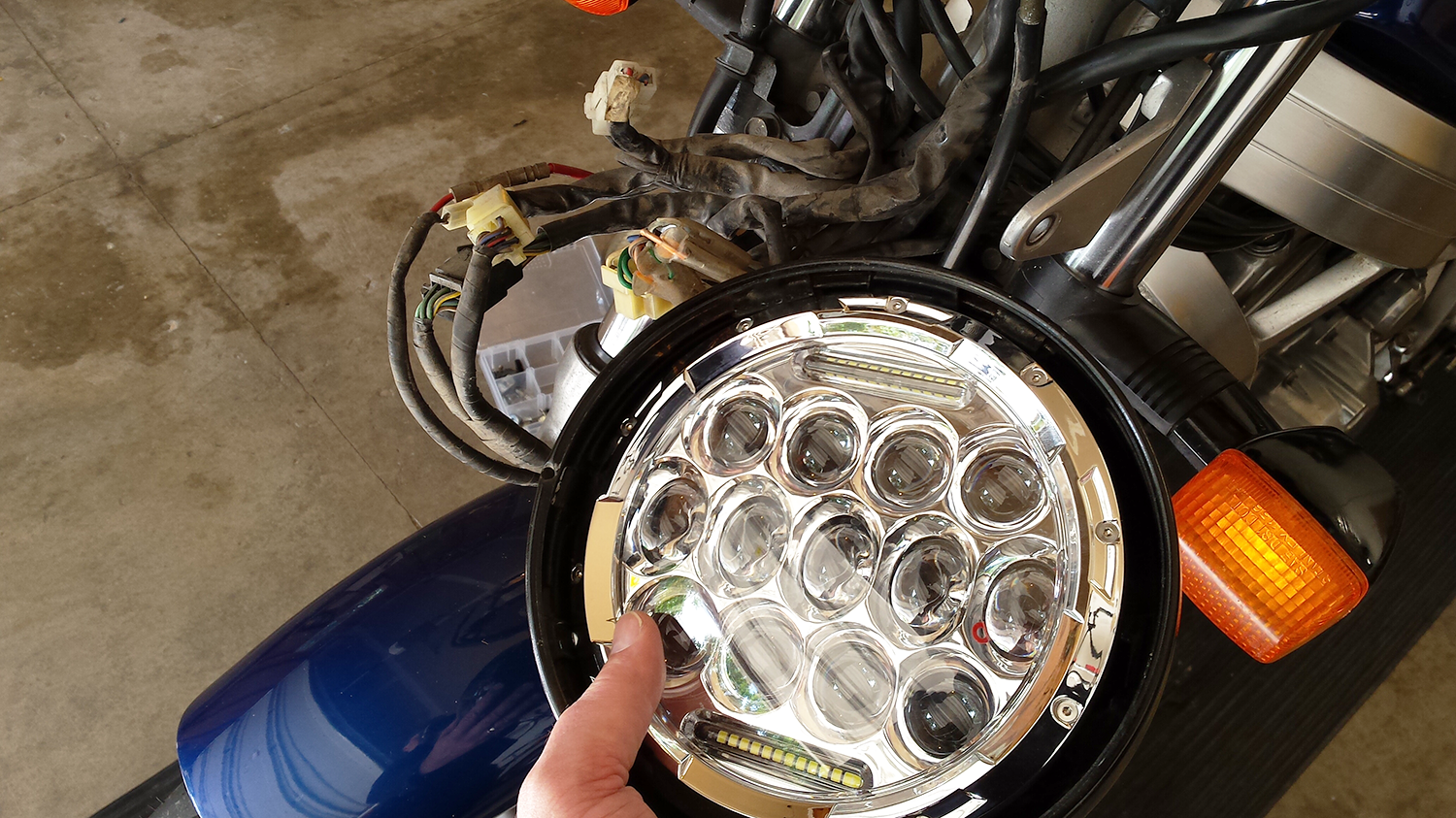 Install A 7 Inch Led Motorcycle Headlight Quickly And Easily