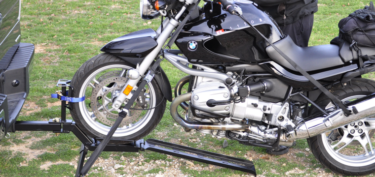 Trailer Hitch Tow Motorcycle