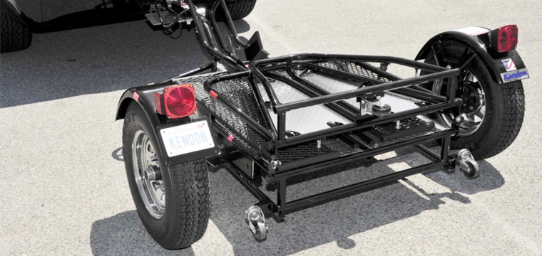 A Ride For Your Ride: Finding The Right Motorcycle Trailer
