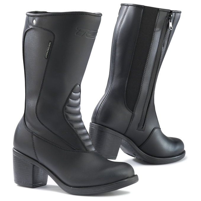 Heeled Motorcycle Boots