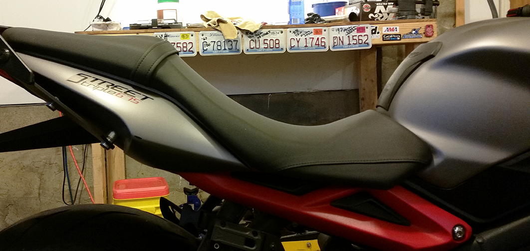 Triumph Street Triple R Shaved Seat