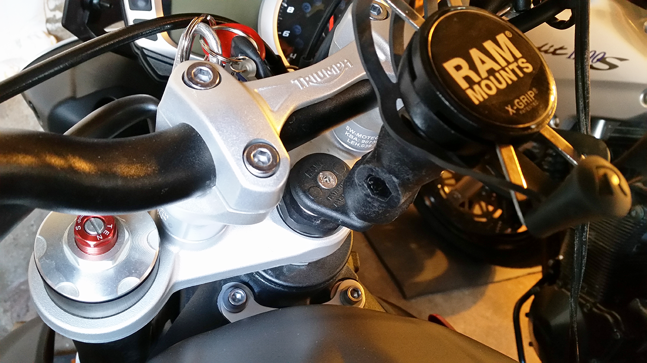 RAM Head Tube Ball Mount