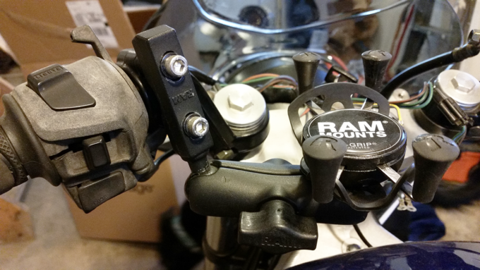 RAM Lever Clamp Ball Mount