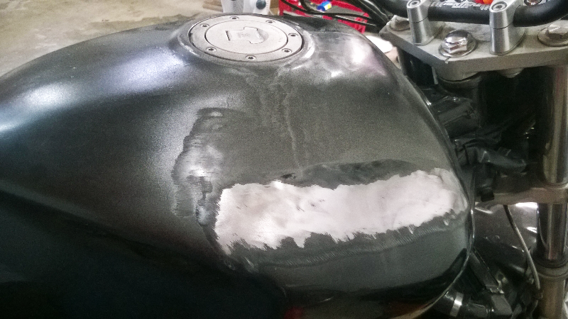 CB1000 Gas Tank Paint