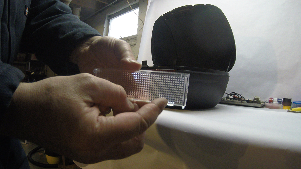 Shad SH45 Bottom Lense Tabs