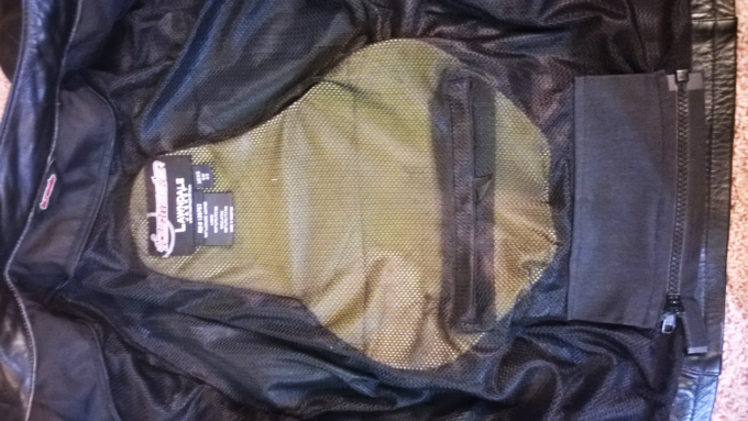 Tourmaster Lawndale Armor Pockets