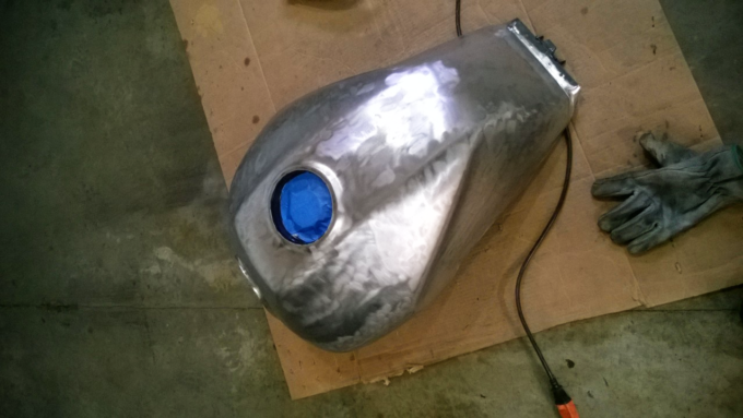 Honda CB1000 Gas Tank Paint