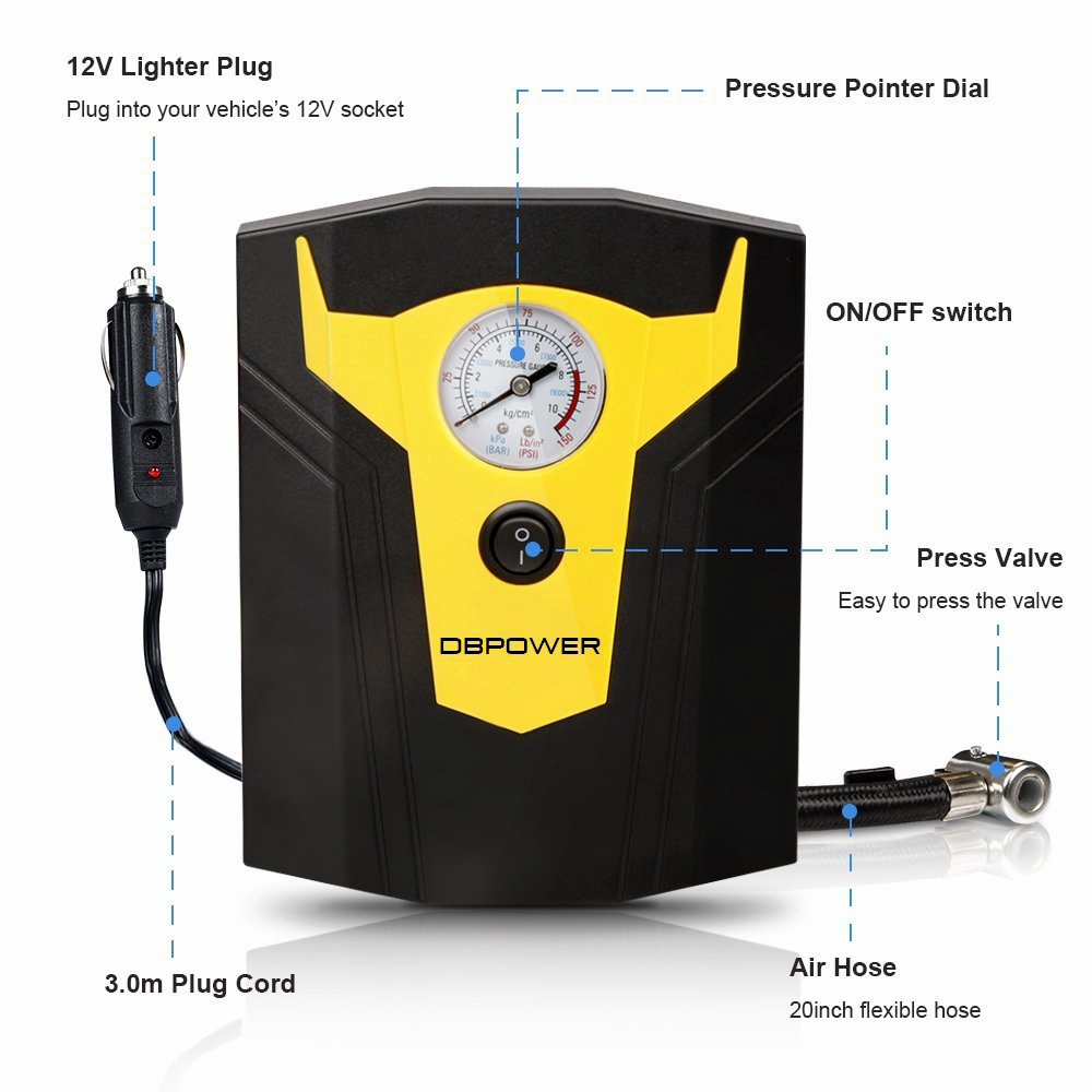 DBPower Portable Air Compressor