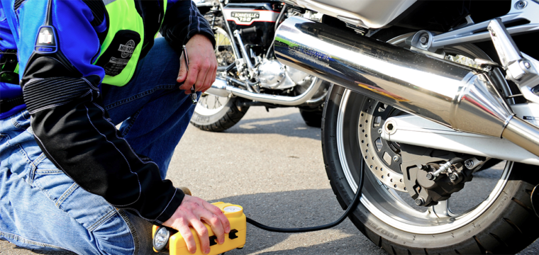 A Portable Air Compressor For Every Ride