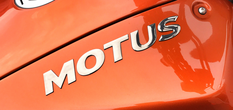 Motus Test Ride: Torque, Power and Finesse