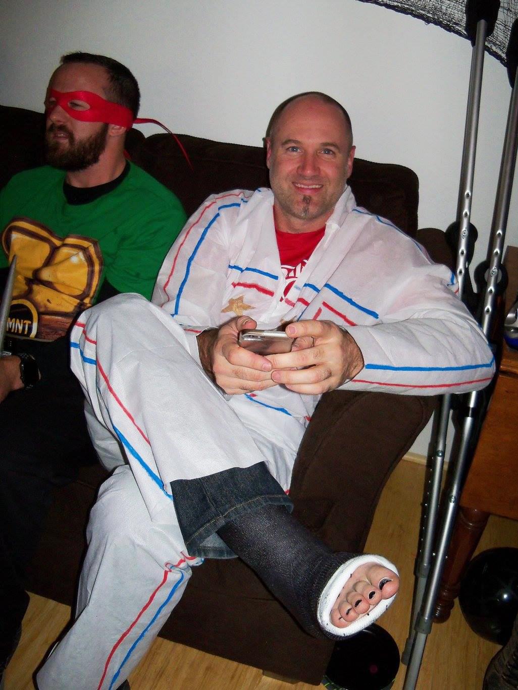 Tim Broken Leg