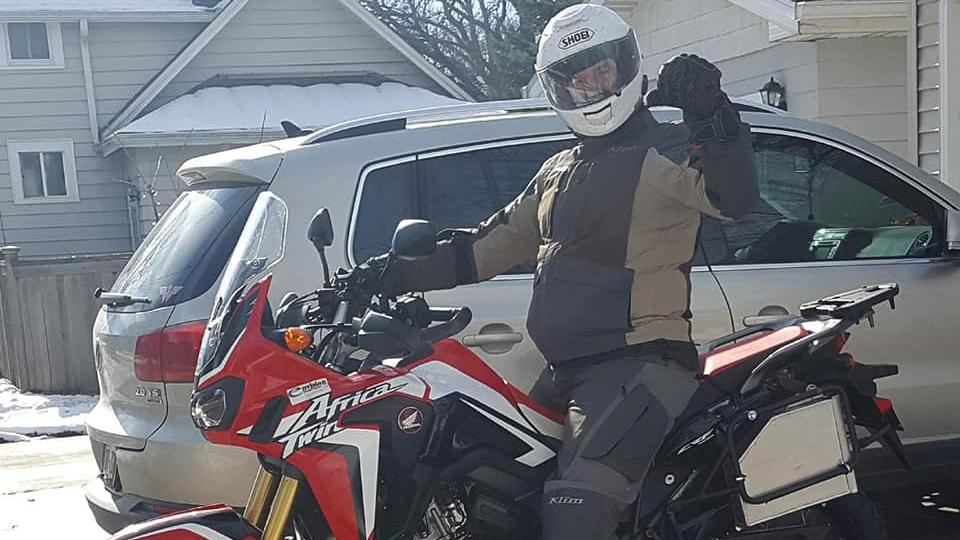 Tim Rides Again!