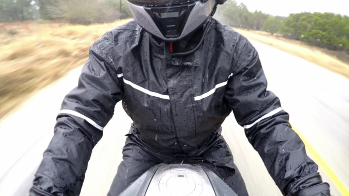 Bilt Tornado One Piece Motorcycle Rain Suit