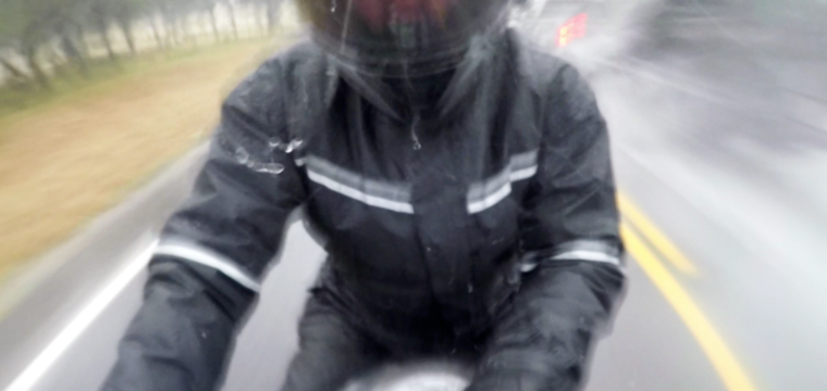 Be Dry! Bilt One Piece Motorcycle Rain Suit