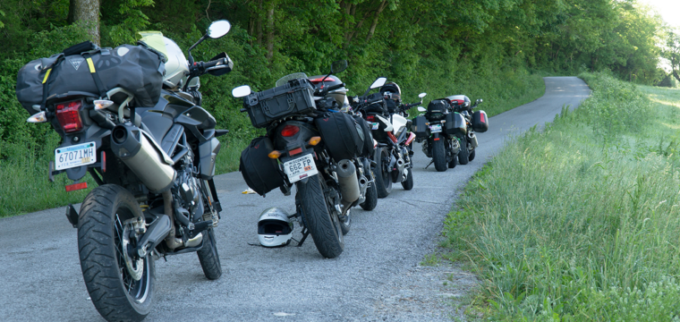 Group Motorcycle Ride Leader