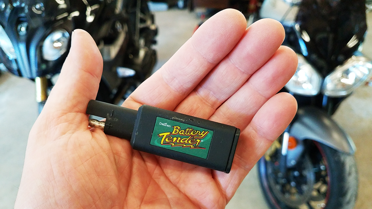 Battery Tender SAE to USB
