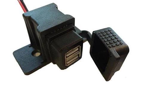 BurnsMoto Dual USB